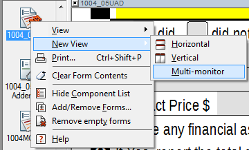 New View > Multi-monitor