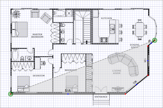 Photometrics - Tracing a Floor Plan