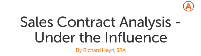 Sales Contract - Under the Influence